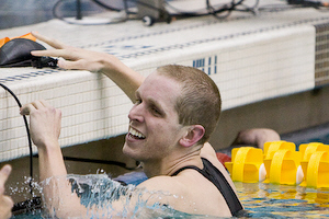 University of Virginia senior Ryan Hurley won the 200 breaststroke in 1:55.14