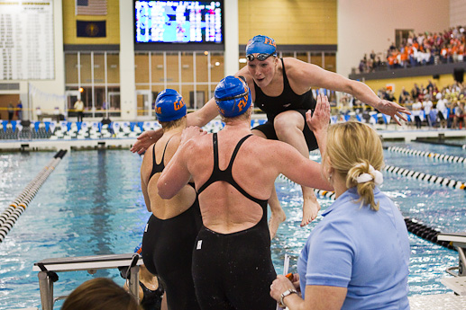 University of Florida Women win 2010 NCAA Swimming and Diving Championships