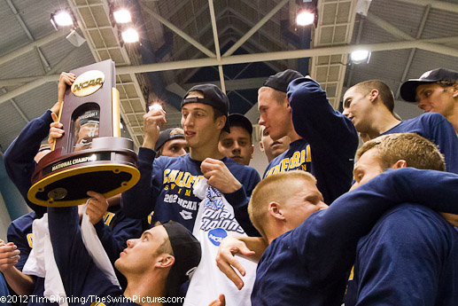 NCAA/2012/Men/The University of California Berkely wins the team title at the 2012 Men's Swimming and Diving Championships