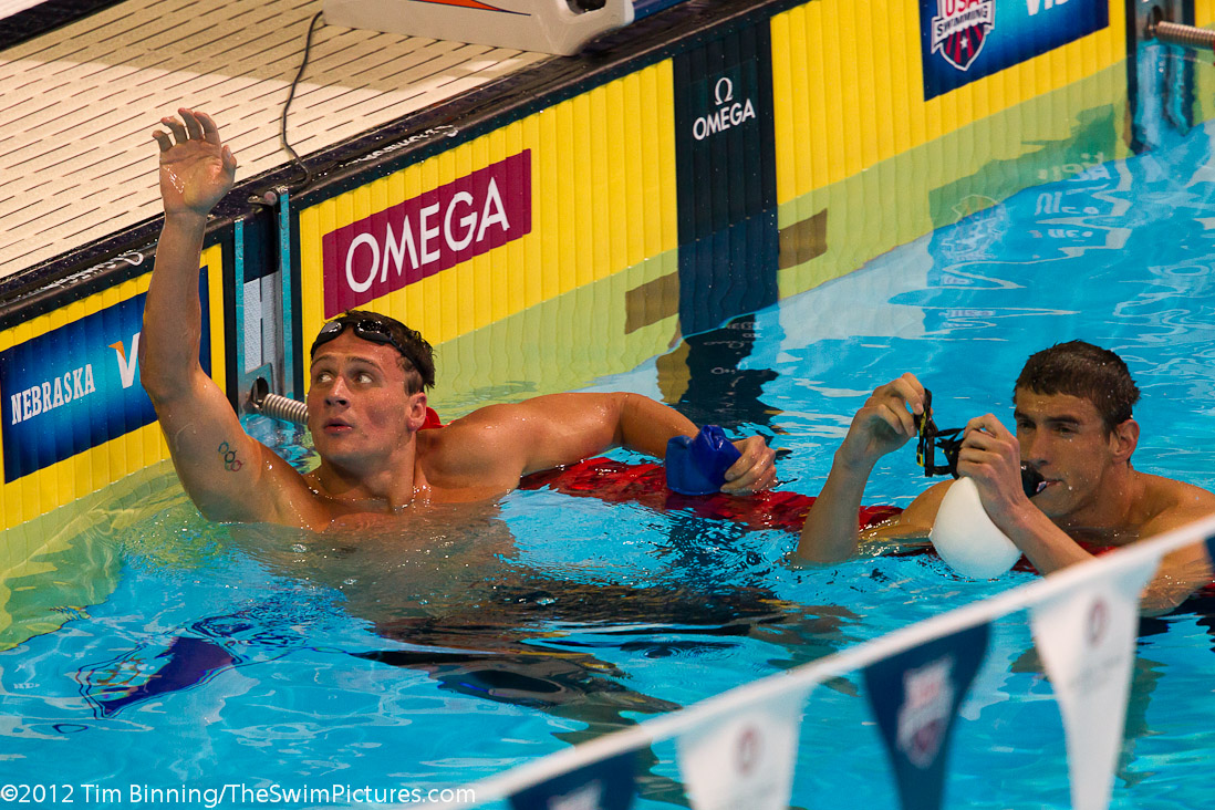 2012 Usa Olympic Team Trials Swimming Monday Tuesday Highlights